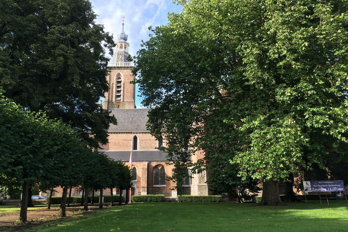 Gotische St. Bavo-Kirche Aardenburg