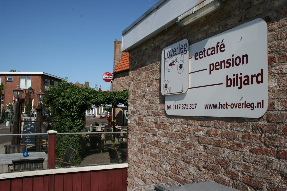 "Eetcafe und Pension ""t`Overleg"""