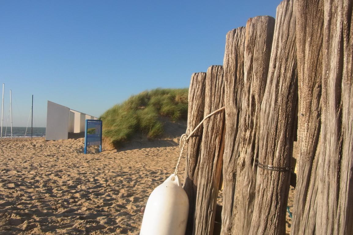 Het Zwin-Strand - Eingang zum Strand