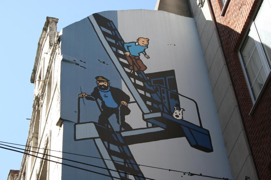 Brüssels Comic Walk