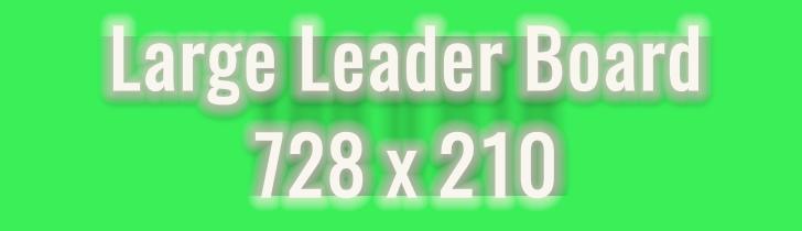 Die Aufmerksamkeit des Users auf das eigene Angebot lenken: Das Large Leader-Board