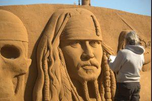 Sandskulpturenfestival Oostende @ Strand Zeeheldenplein | Oostende | Vlaanderen | Belgien