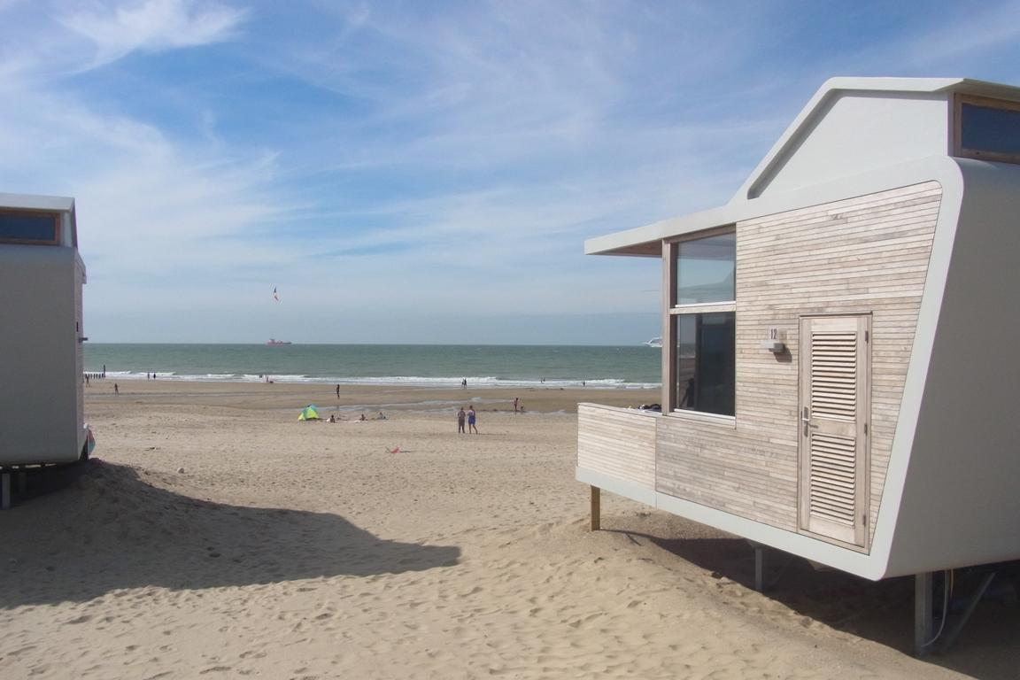 Cadzandf-Bad Strandschlafhäuschen