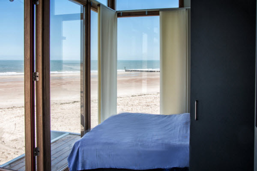 Morgens von Möwen und Meer geweckt werden: Strandhäuser Park Hoogduin Cadzand-Bad