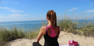 Yoga in Cadzand