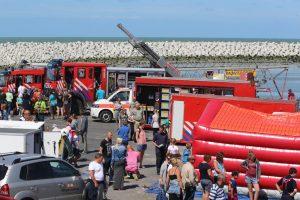 """Tag der Rettungsdienste Cadzand-Bad """"Hulp Verlenings Dag"""" @ KNRM-Gebäude Jachthafen Cadzand-Bad   Cadzand-Bad   Provinz Zeeland   Niederlande"""