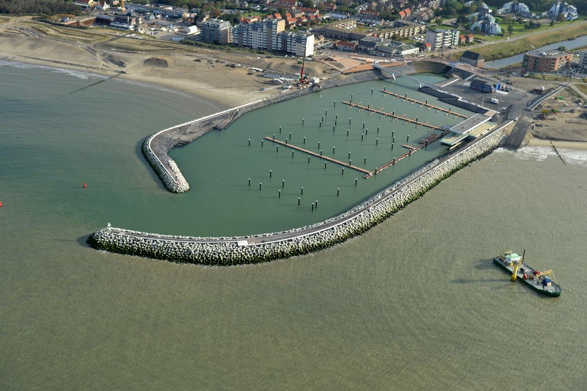 Jachthafen Cadzand-Bad Mitte Oktober 2016