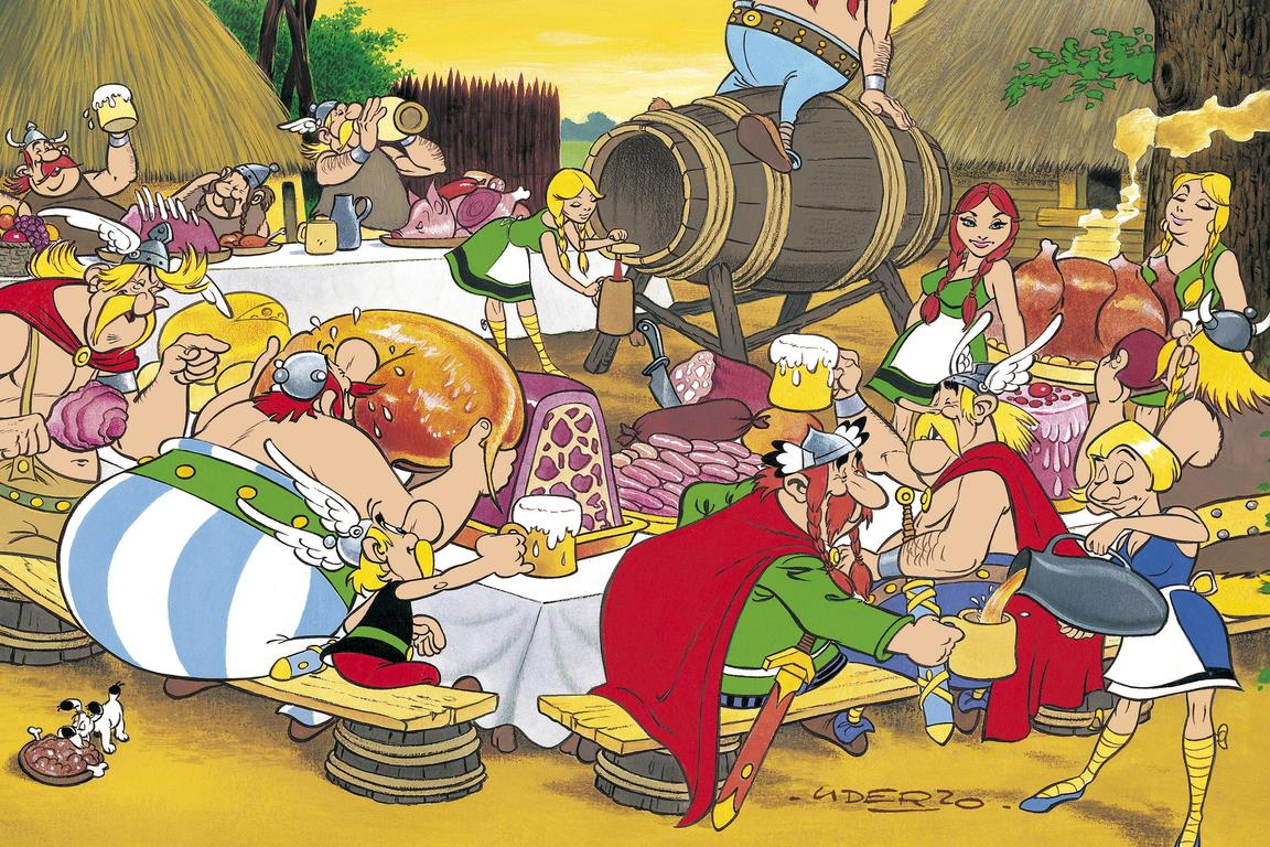 "Ausstellung ""Asterix bei den Belgiern"" Comicmuseum Brüssel @ Comicmuseum Brüssel | Brussel | Brussels Hoofdstedelijk Gewest | Belgien"