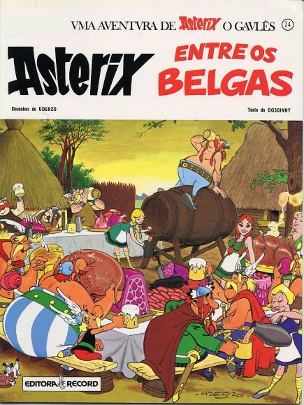 """Brasilianische Ausgabe """"Asterix bei den Belgiern"""""""