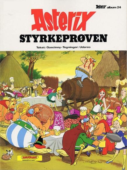 "Dänische Ausgabe ""Asterix bei den Belgiern"""