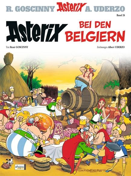 """Deutsche Ausgabe """"Asterix bei den Belgiern"""""""