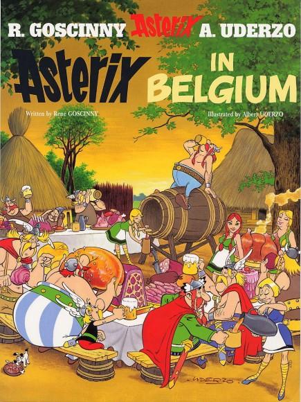 """Englische Ausgabe """"Asterix bei den Belgiern"""""""