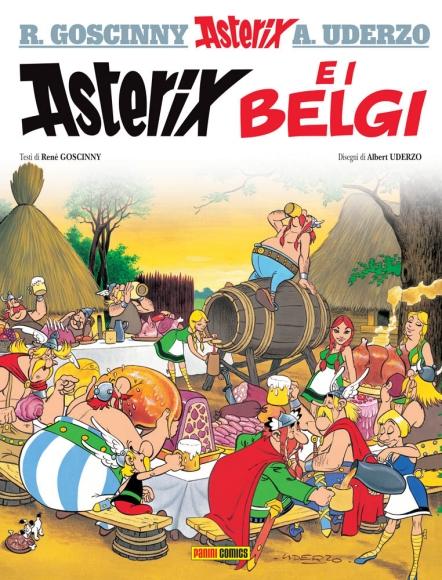 """Italienische Ausgabe """"Asterix bei den Belgiern"""""""