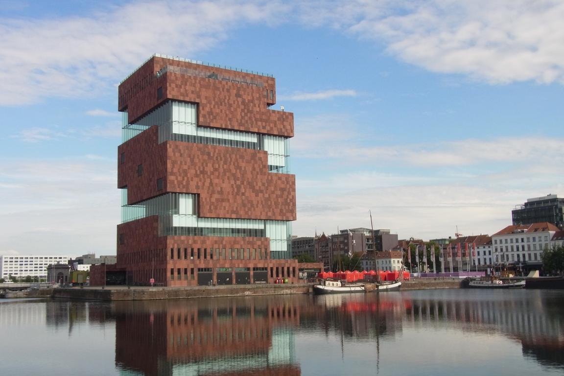 Dachterrasse MAS Antwerpen