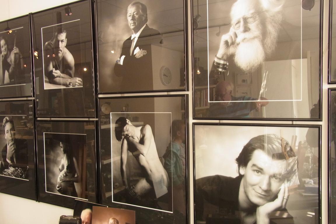 """Porträtfotos von Ben van Hoogen im Foto-Museum """"Ter Bekijks"""""""