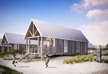 Beach Houses der Noordzee Beach Village Nieuwvliet-Bad: