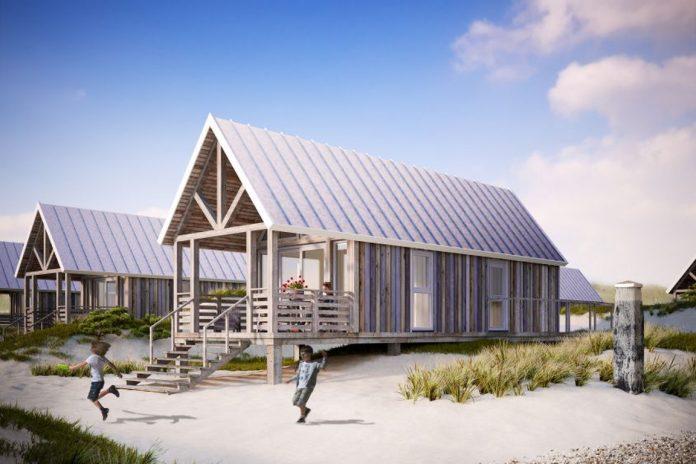 Beach Houses der Noordzee Beach Village Nieuwvliet-Bad:
