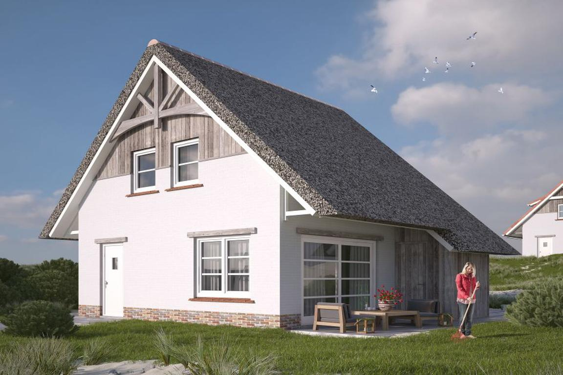 """""""Beach Resort Nieuwvliet-Bad"""": Lodge V4A Luxe"""