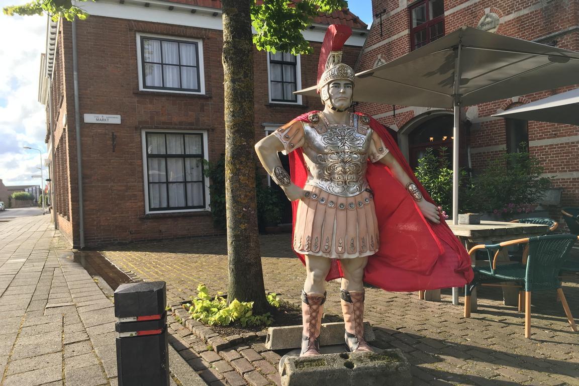 Römerfugur in Aardenburg