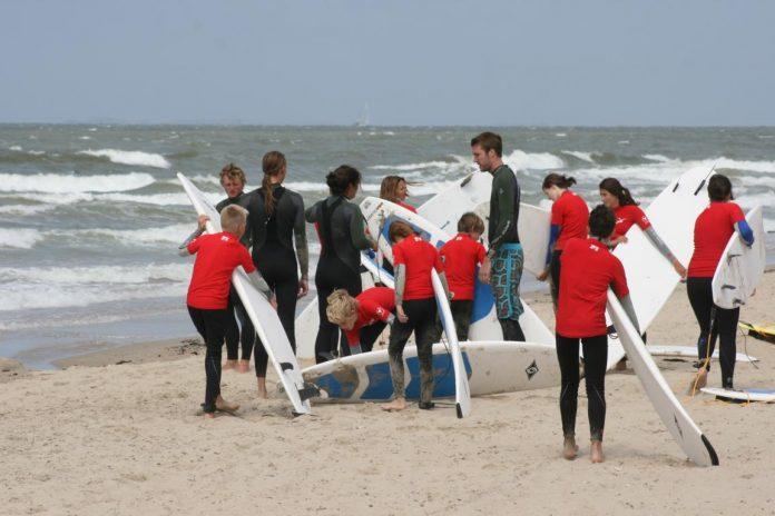 Spaß am Strand und am Wasser für KIds: