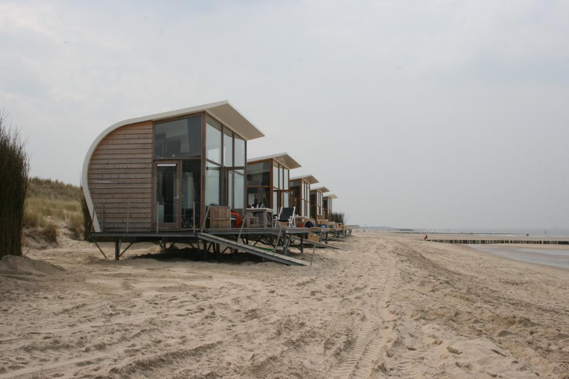Strandschlafhäuschen Groede Cadzand Bad
