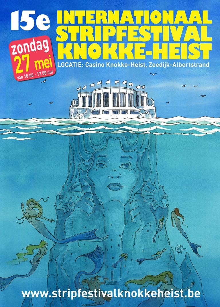 Cartoonfestival in Knokke-Heist