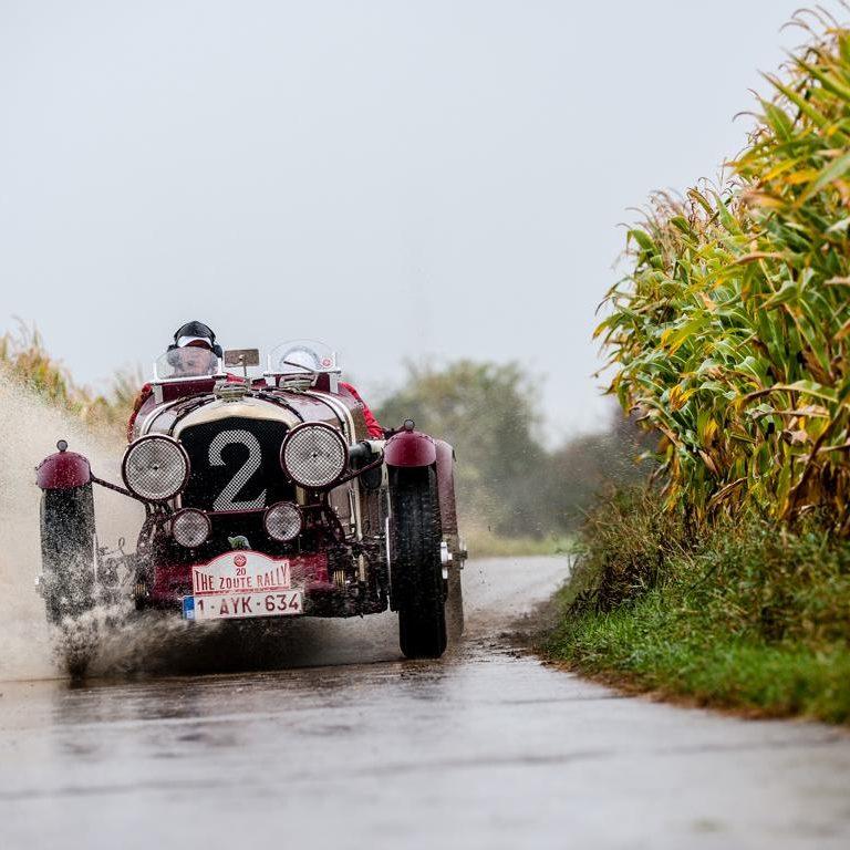 Zoute Oldtimer Grand Prix Knokke Het Zoute
