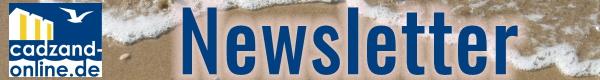 Cadzand-Bad-Update 3 mal im Jahr: Newsletter von www.cadzand-online.de