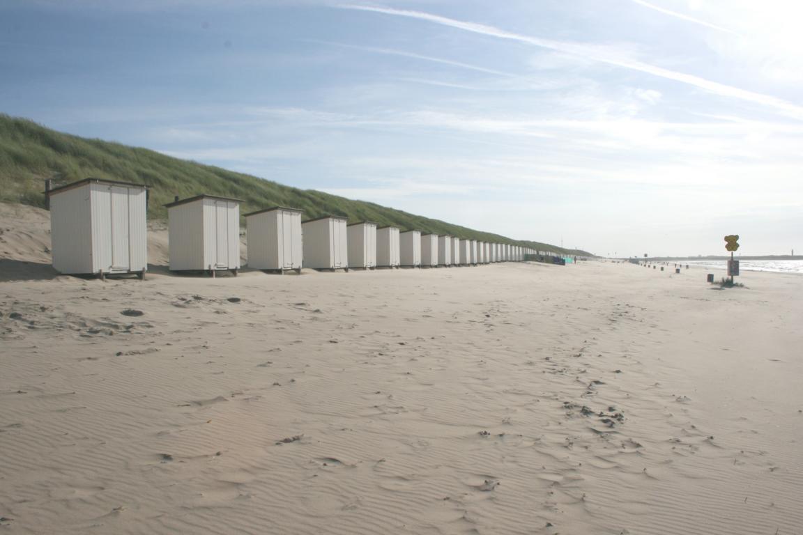 Strand von Nieuwvliet-Bad