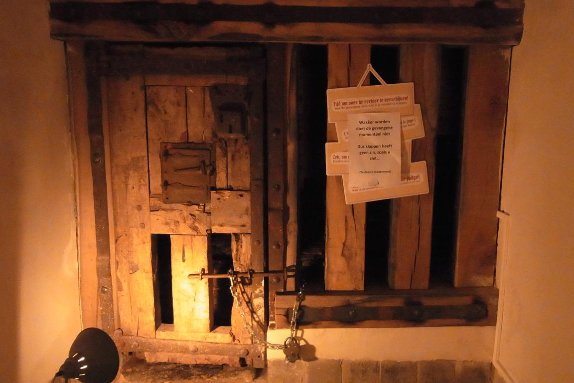 Gefängnis im Ratskeller Belfort Sluis