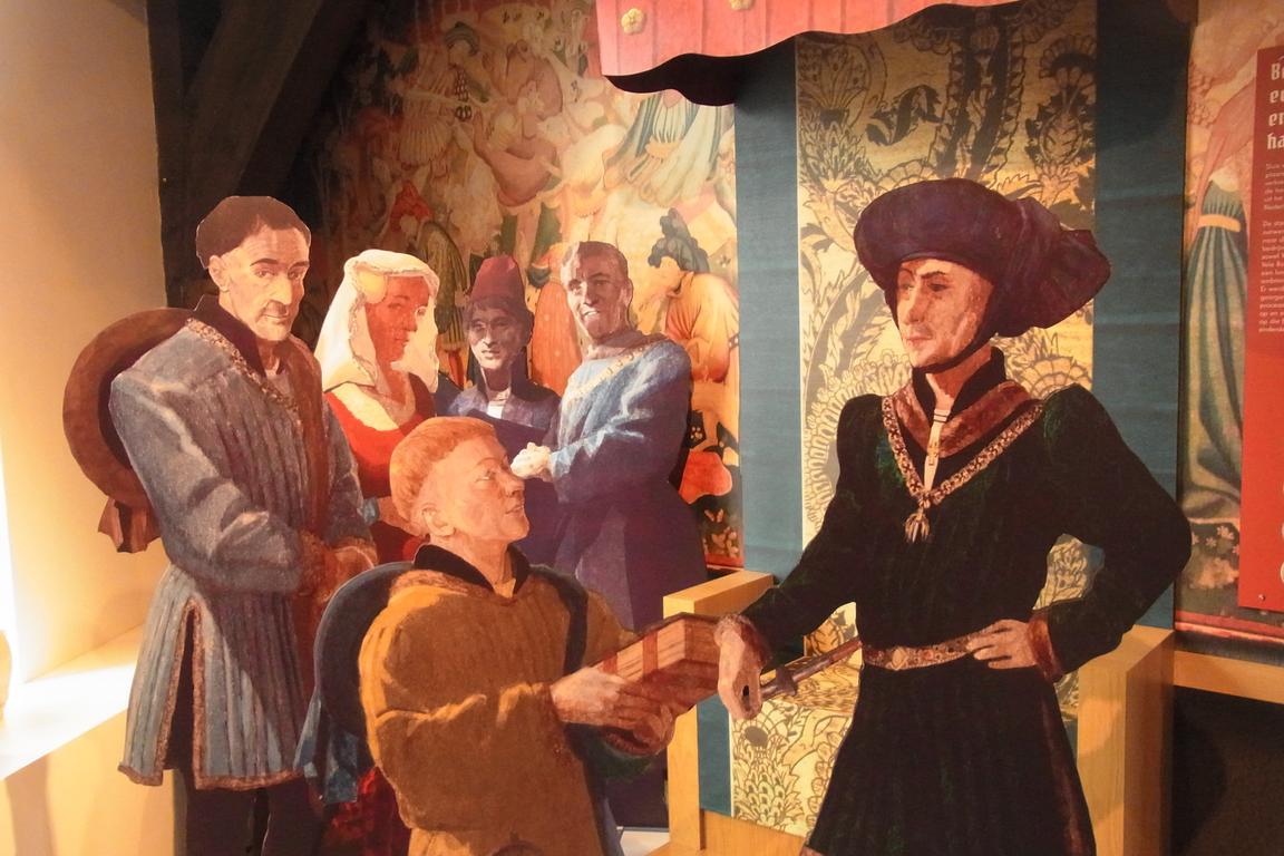 Bürgermeistersaal im Belfort von Sluis