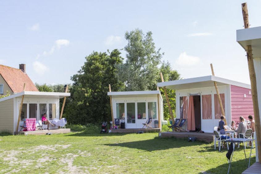 """""""Glamping"""": Komfortables Camping im """"Molecaten Park Hoogduin"""""""