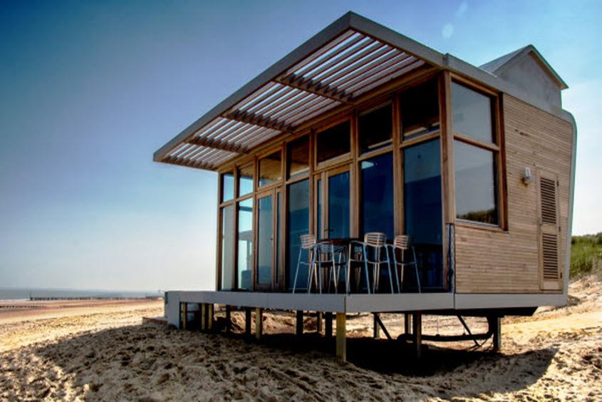 strandschlafh uschen park hoogduin cadzand bad. Black Bedroom Furniture Sets. Home Design Ideas