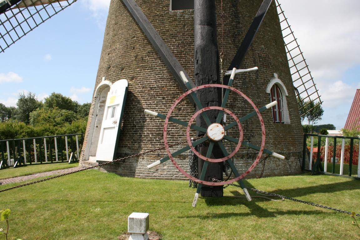 Windmühle in Nieuwvliet