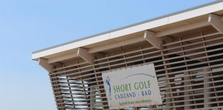 Shortgolf-Anlage in Cadzand-Bad