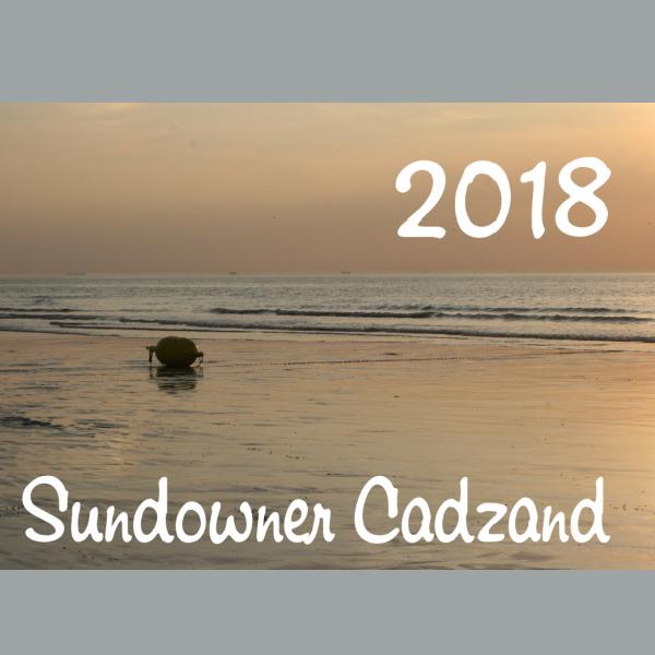 Cadzand-Bad-Fotokalender 2018: Sundowner Cadzand