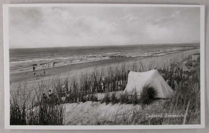 Dünen von Cadzand-Bad um 1956