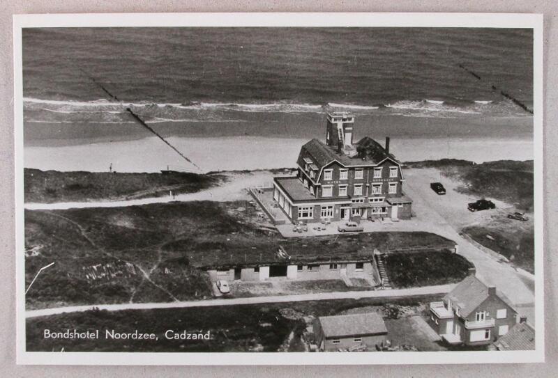 """Hotel """"Noordzee"""" Cadzand-Bad um 1959"""