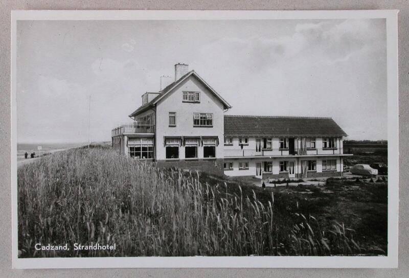"""""""Strandhotel"""" Cadzand-Bad um 1954"""