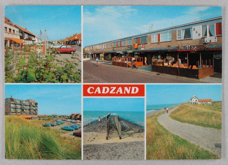 Postkarte Cadzand-Bad