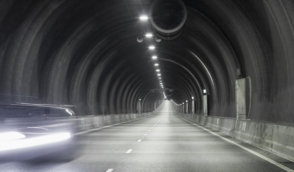 Westerschelde-Tunnel: Fahrbahn1