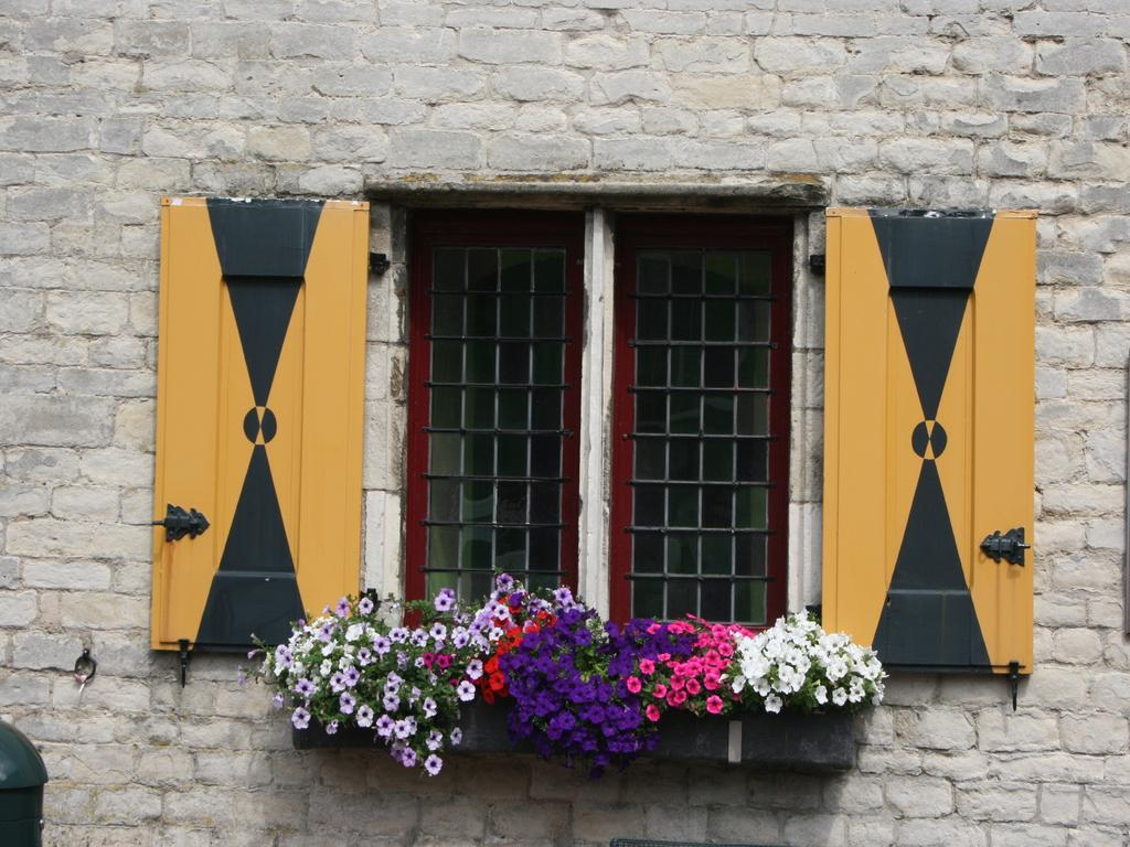 Mittelaterliche Fensterläden in Hulst