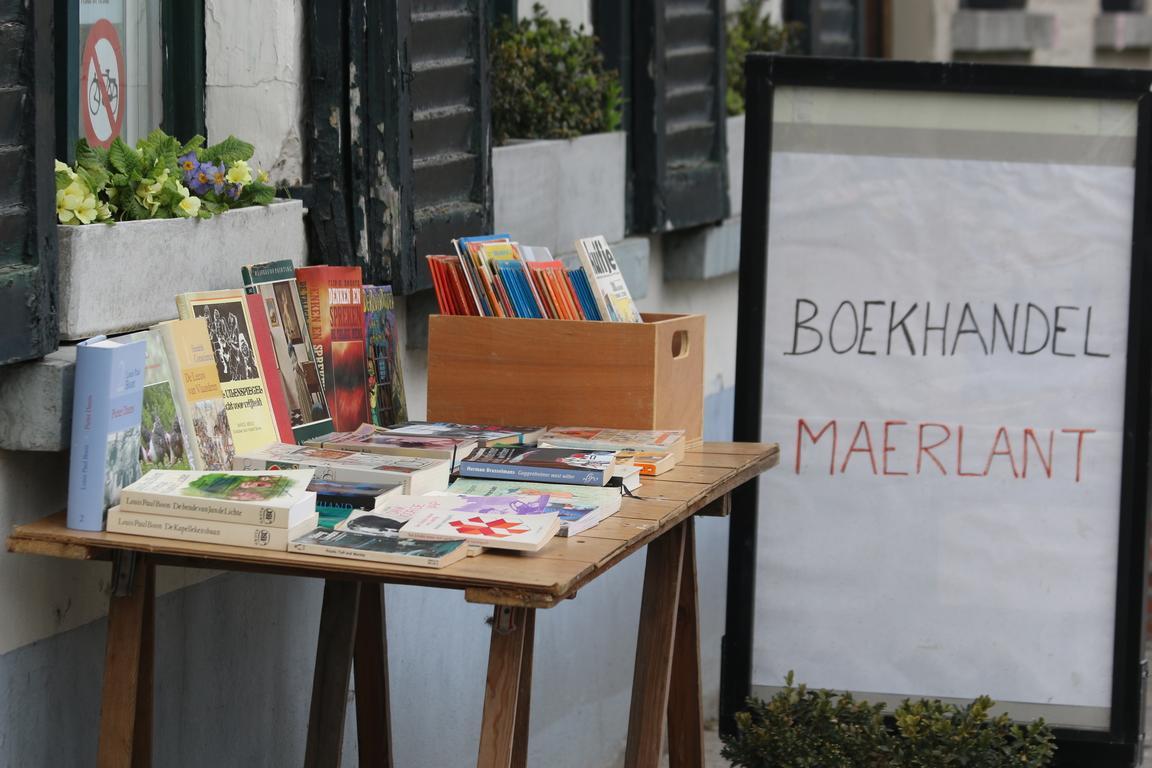 Bücherdorf Damme in Belgien
