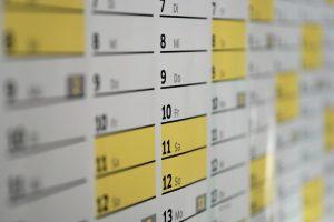 Aktueller Cadzand-Bad-Kalender
