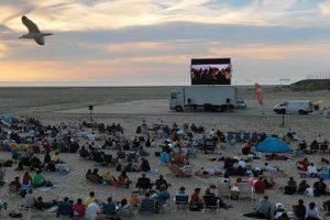 Open-Air-Kino am Strand Zeebrügge @ Strand Zeebrügge | Zeebrugge (Brugge) | Vlaanderen | Belgien
