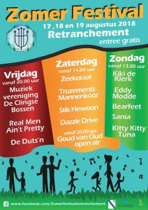 Musik-Sommerfestival Retranchement wegen Corona abgesagt @ Retranchement | Retranchement | Provinz Zeeland | Niederlande