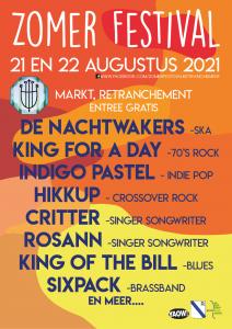 Musik-Sommerfestival Retranchement @ Retranchement | Retranchement | Provinz Zeeland | Niederlande