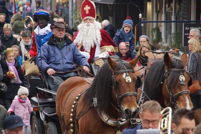 Sinterklaas in Sluis