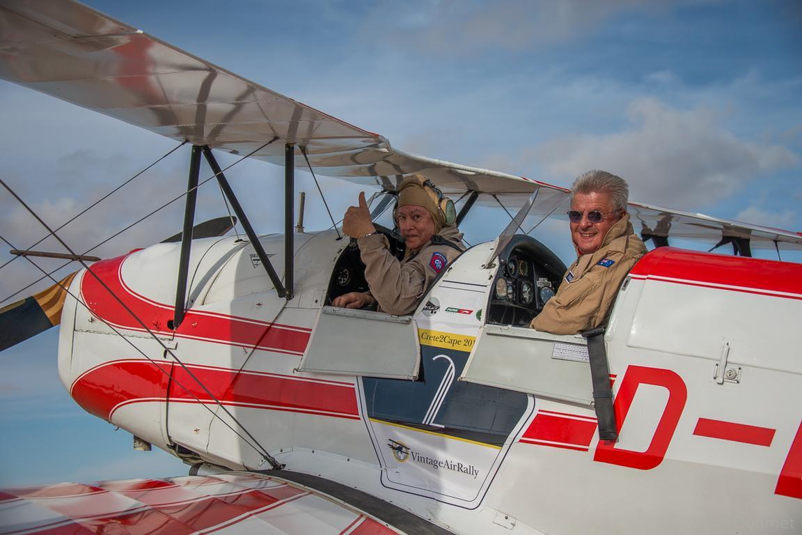 Vintage Air Rally in Knokke-Heist: