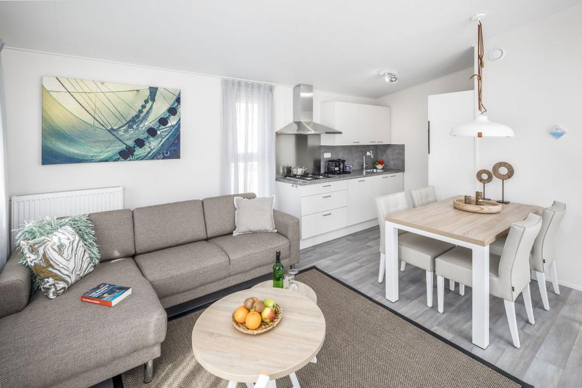 """""""Beach Resort Nieuwvliet-Bad"""": Lodge L4A Comfort"""